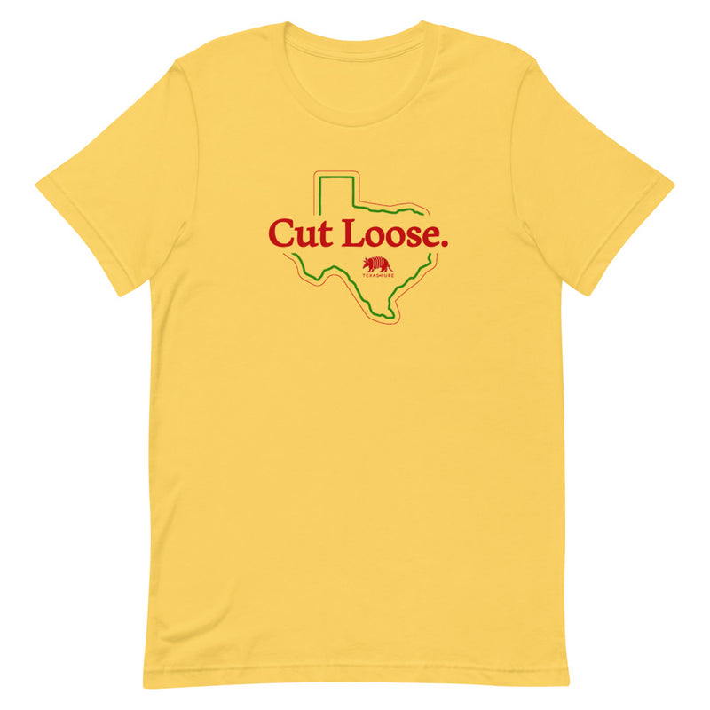 Cut Loose Texas Pure Short-Sleeve Unisex T-Shirt
