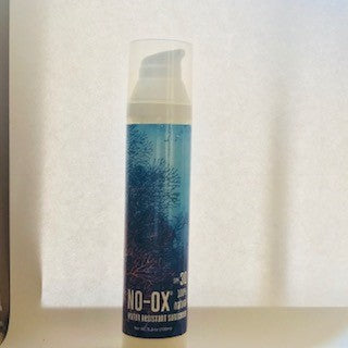 Brand New! NO-OX 100% Natural SPF 30 Face & Body 3.3 oz, Reef & Coral Safe!