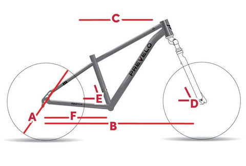 Prevelo Zulu Four Bicycle Geometry