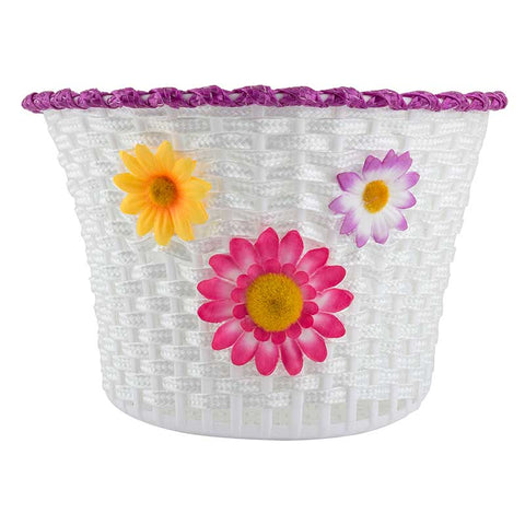 Sunlite Classic Flower Bicycle Basket