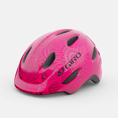 Giro Scamp Bright Pink Pearl Bike Helmet