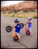 Strider 12 Sport Balance Bike Wheelies in Moab