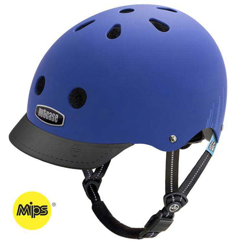 Nutcase Little Nutty Blue Bubbles MIPS Bike Helmet