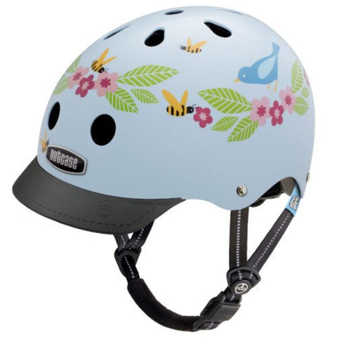 Nutcase Little Nutty Bluebirds & Bees Bike Helmet