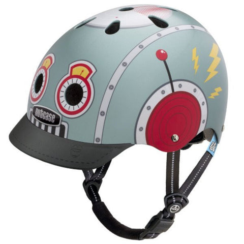 Nutcase Little Nutty Tin Robot Bike Helmet
