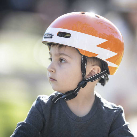 Nutcase Little Nutty Lightning Gloss MIPS Bike Helmet