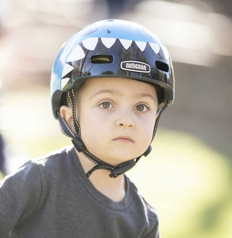Nutcase Little Nutty Jaws Metallic MIPS Bike Helmet