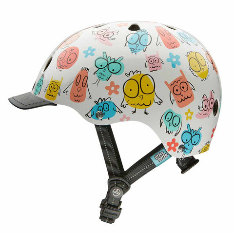 Nutcase Little Nutty Owl Party Bike Helmet