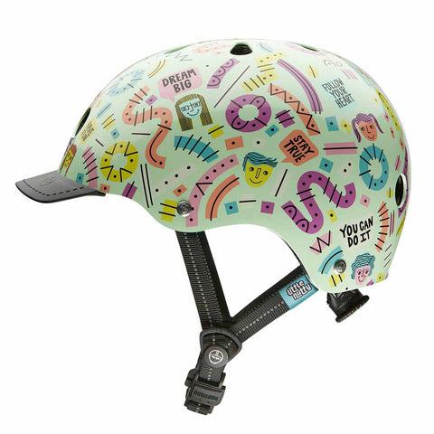 Nutcase Little Nutty Stay Positive Bike Helmet
