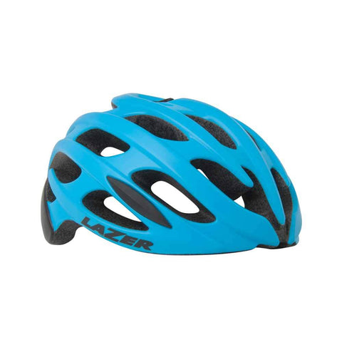 Lazer Blade Matte Blue and Black Bike Helmet