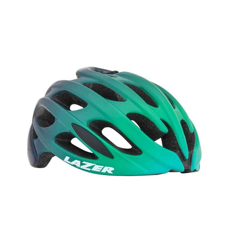 Lazer Blade Mint Green Blue Bike Helmet