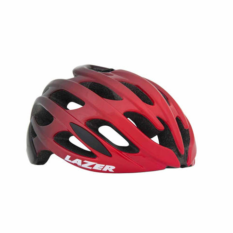 Lazer Blade Red Black Bike Helmet
