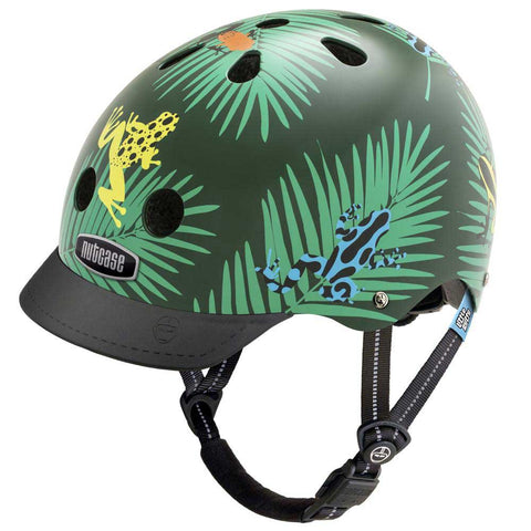 Nutcase Little Nutty Dart Frogs Bike Helmet