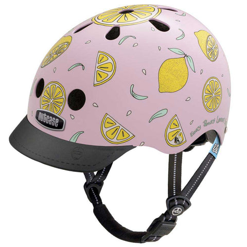Nutcase Little Nutty Pink Lemonade Bike Helmet