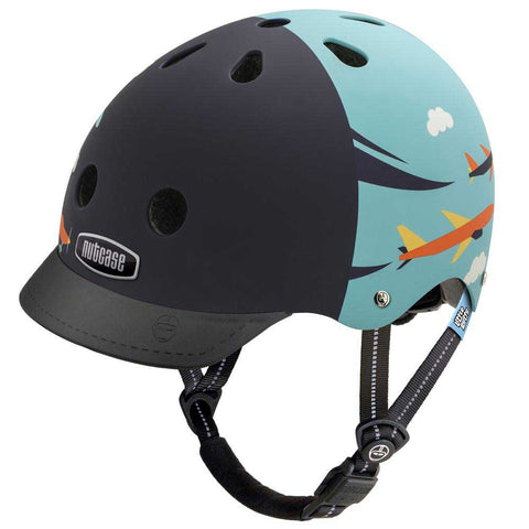 Nutcase Little Nutty Sky Flyer Matte Bike Helmet