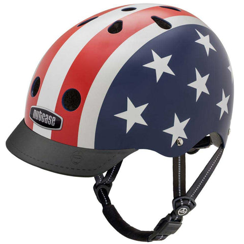 Nutcase Stars & Stripes Bike Helmet