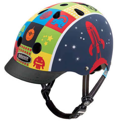 Nutcase Little Nutty Space Cadet Kids Bike Helmet