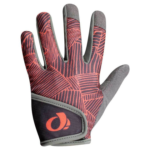 Pearl Izumi Phantom/Fiery Coral Lucent Junior MTB Gloves