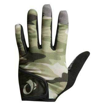 Pearl Izumi Green Camo Junior MTB Gloves