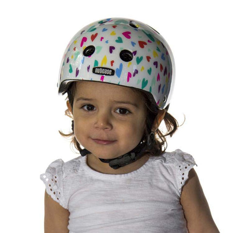 Nutcase Baby Nutty Happy Hearts Kids Bike Helmet