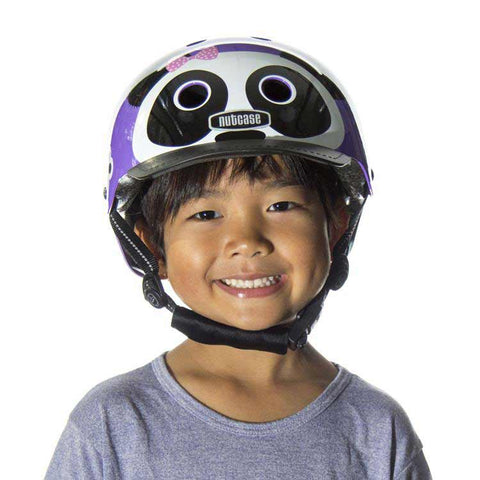 Nutcase Little Nutty Purple Panda Bike Helmet