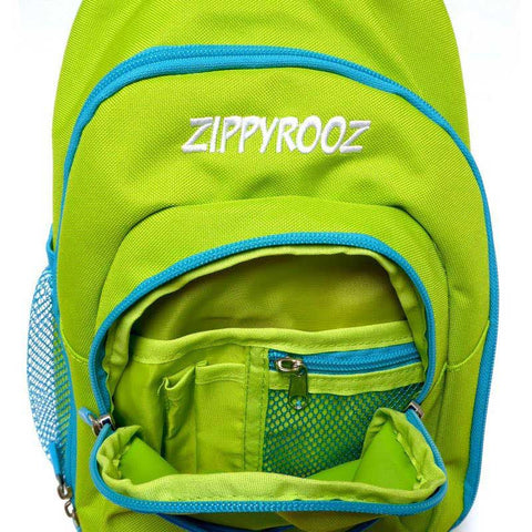 ZippyRooz Little Kids Green Backpack