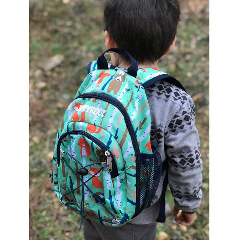 ZippyRooz Fox Print Toddler Backpack