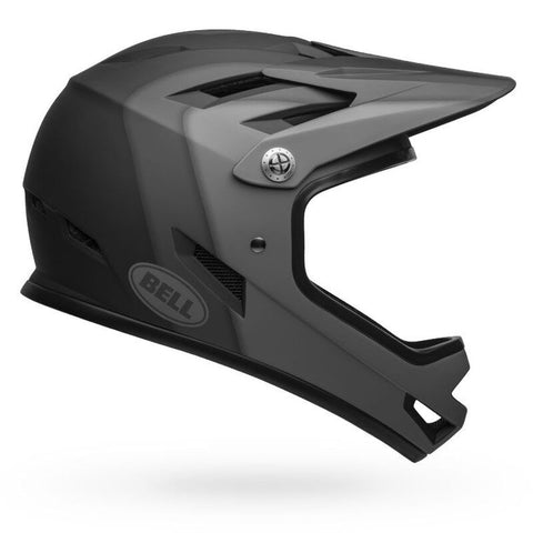 Bell Sanction Presence Matte Black Full-Face Bike Helmet
