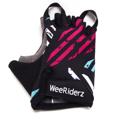 ZippyRooz Geometric Kids Bike Gloves