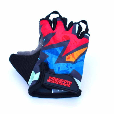 ZippyRooz Kapow Kids Bike Gloves