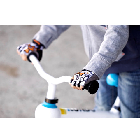 ZippyRooz Skulls Kids Bike Gloves