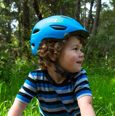 Giro Scamp Blue Splash Youth Bike Helmet