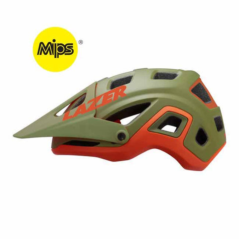 Lazer Impala MIPS Orange Mountain Bike Helmet