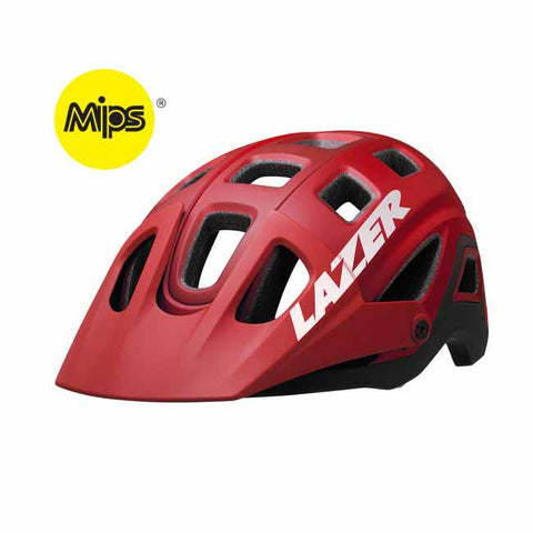 Lazer Impala MIPS Red Mountain Bike Helmet