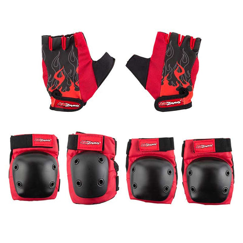 Kidzamo Daisy Elbow/Knee Pad & Glove Set