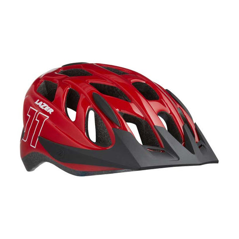 Lazer J1 Red Bike Helmet