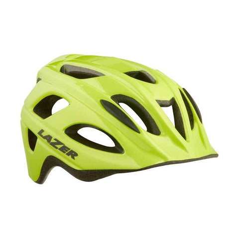 Lazer Nut'z Flash Yellow Bike Helmet with InsectNet