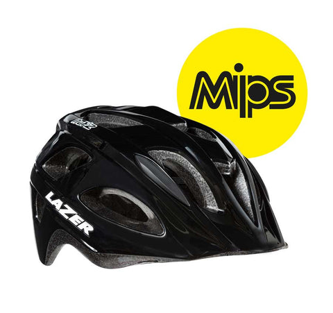 Lazer Nut'z MIPS Black Bike Helmet with InsectNet