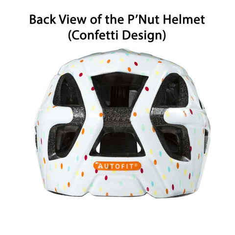 Lazer P'Nut Purple Stars Bike Helmet