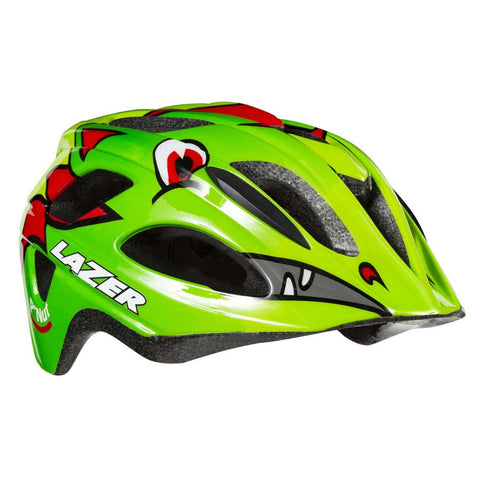 Lazer P'Nut Green Dragon Bike Helmet