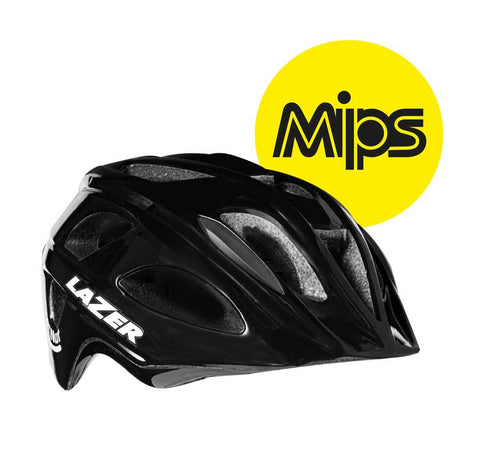 Lazer P'Nut MIPS Black Bike Helmet