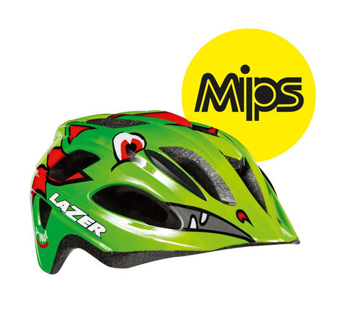 Lazer P'Nut MIPS Green Dragon Bike Helmet
