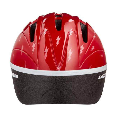 Lazer Bob Red Flash Bike Helmet