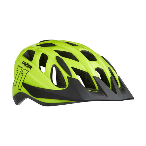 Lazer J1 Flash Yellow Bike Helmet