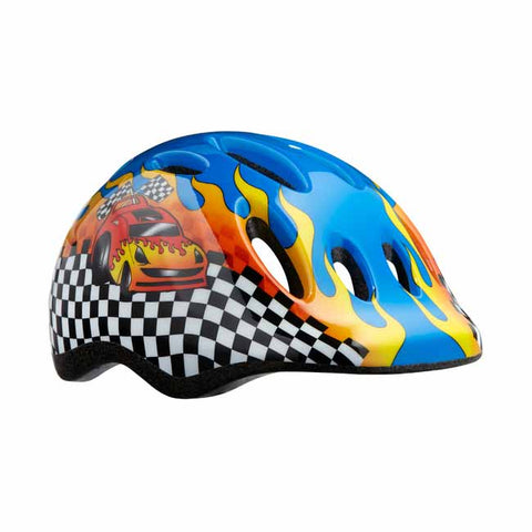 Lazer Max+ Big Flames Kids Helmet