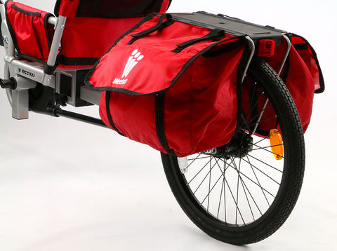 WeeHoo Bicycle Trailer Venture Rack and Panniers