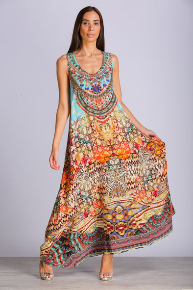 ARIZONA - SLEEVELESS MAXI DRESS