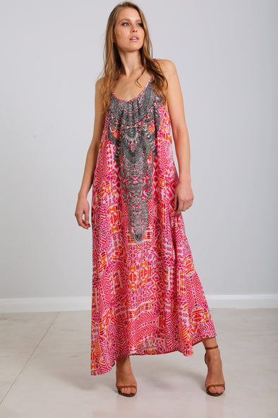 SHIRAZ - MAXI WITH ADJUSTABLE STRAPS