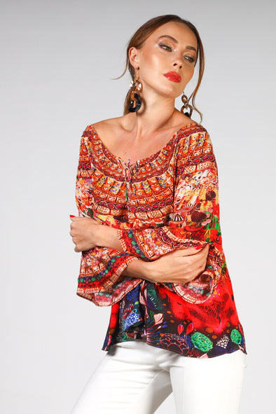 CORRALLE - GYPSY TUNIC