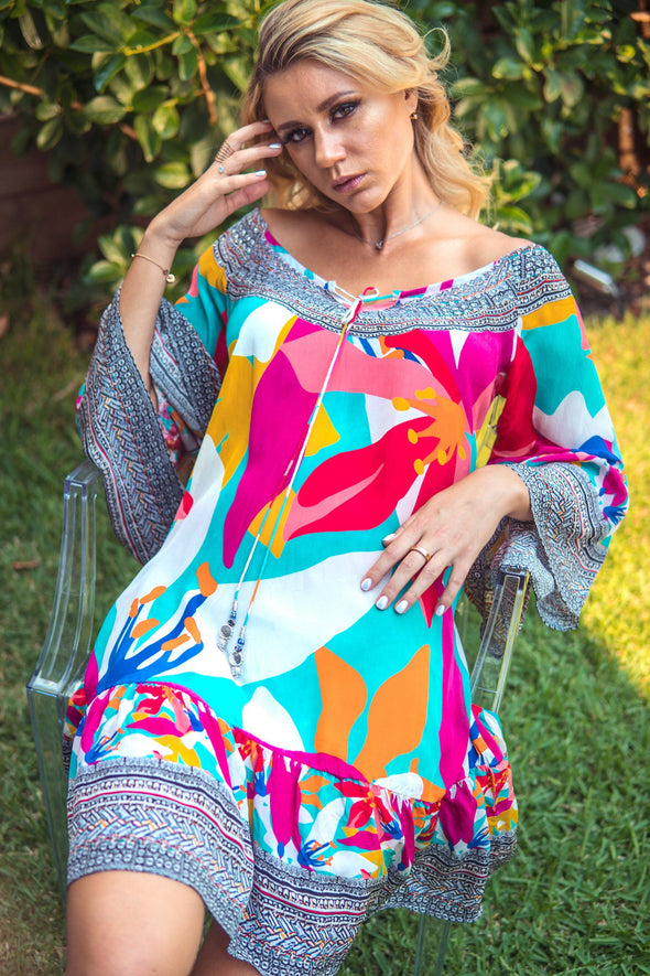 KALEIDOSCOPE - GYPSY DRESS